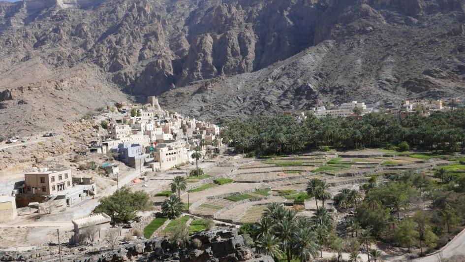 Village omanais