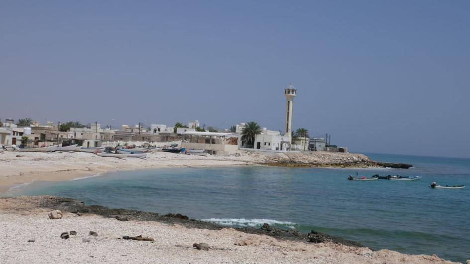 Village de pêcheurs côte omanaise