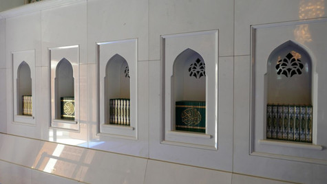 Mosquée du Sultan Qabus Ibn Saïd - Mascate