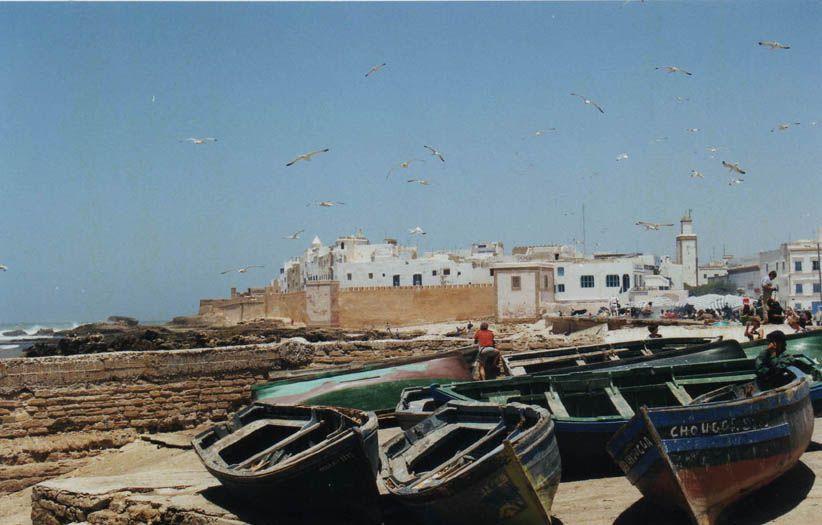 Essaouira bateaux