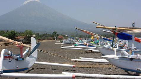 Embarcations de pêcheurs - Bali