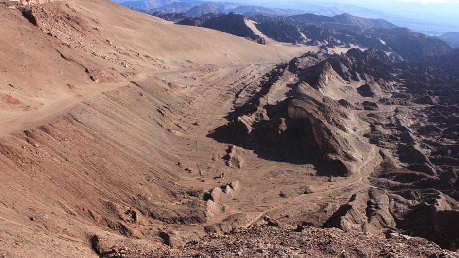 Vallée de la mort - Atacama