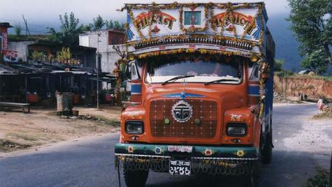 Sur la route - Pokhara