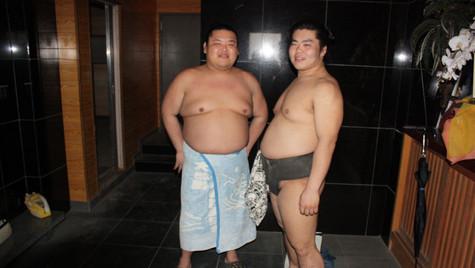 Apprentis sumotoris - Tokyo