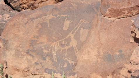 Pétroglyphes Twyfelfontein