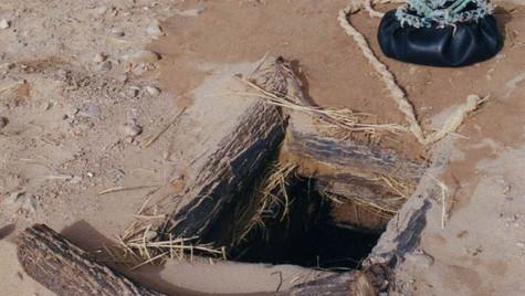 Puit typique perdu dans le désert