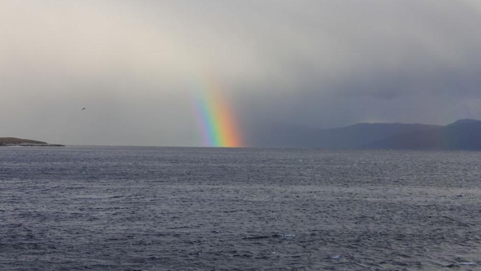 Arc en ciel - Cap Horn