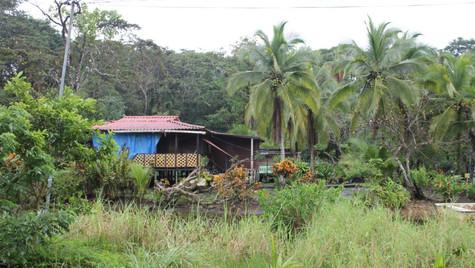Maison typique côte Caraïbe