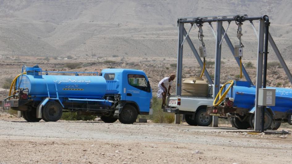 Ravitaillement en eau potable