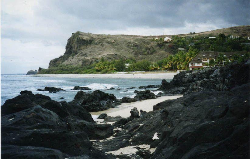 Roches volcaniques - Côte sud ouest