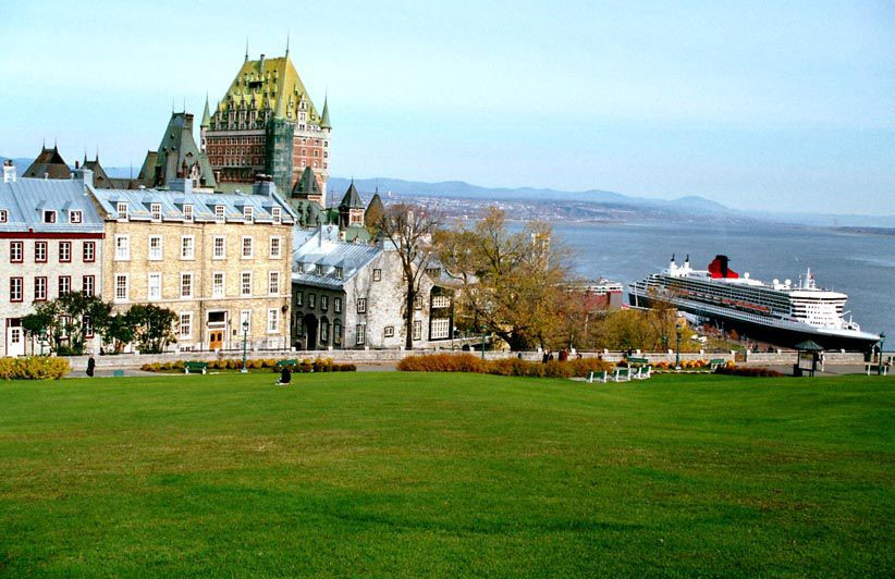 Québec les Plaines d'Abraham