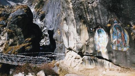 Chemin de trek - Thame