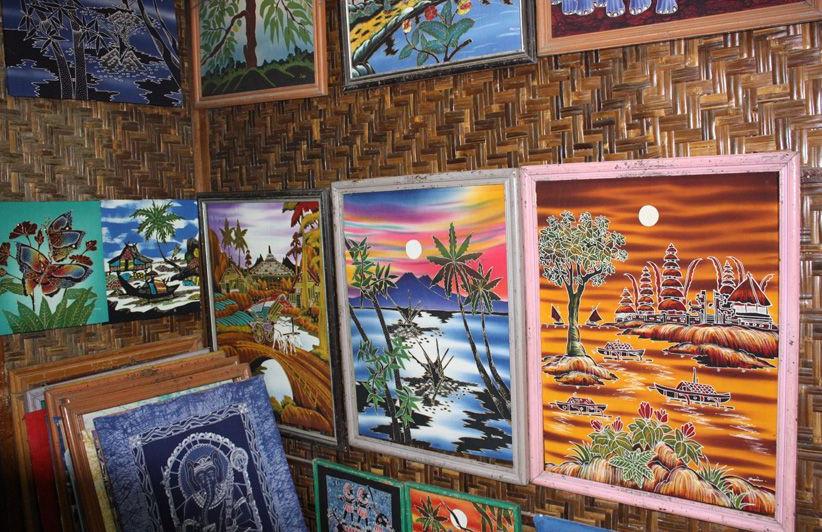 Boutique de batik Jogjakarta - Java