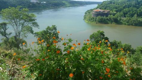 Les trois frontières - Iguaçu