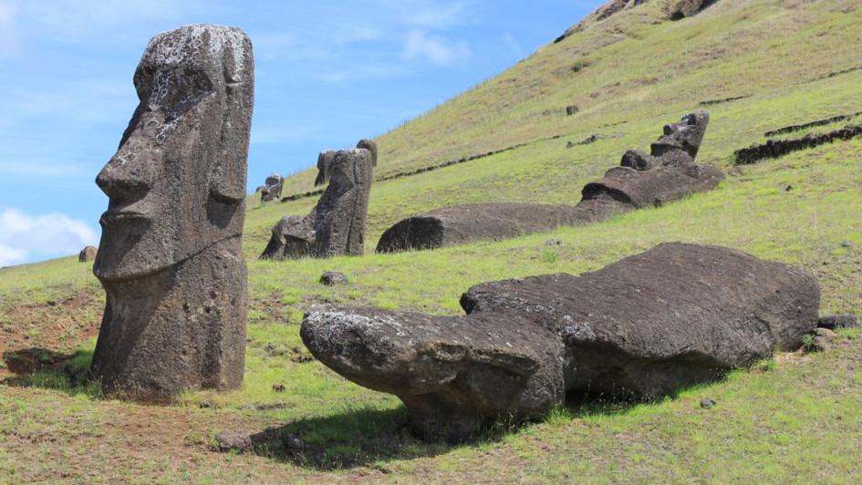 Site Rano Raraku - Ile de Pâques