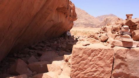 Ruines Maison Lauwrence Arabie