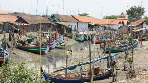 Village de pêcheurs - Java