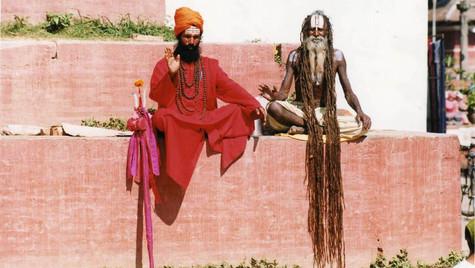 Deux Sadhus - Katmandu