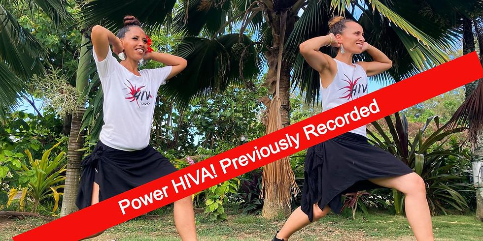 Power HIVA Recording 7AM 9/3 till 7AM 9/4