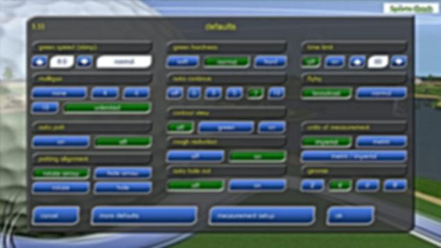 GPS Golf Simulator System Configuration