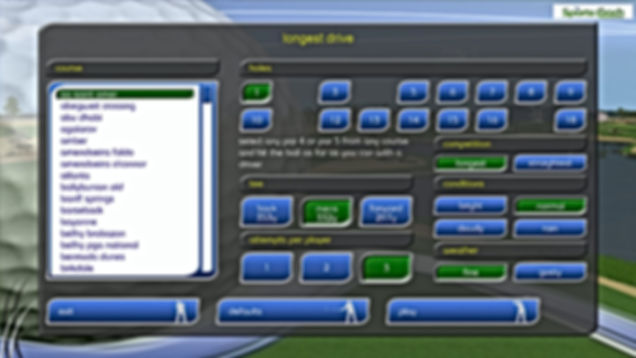 GPS Golf Simulator Longest Drive