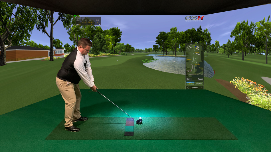 SURROUND GOLF SIMULATOR