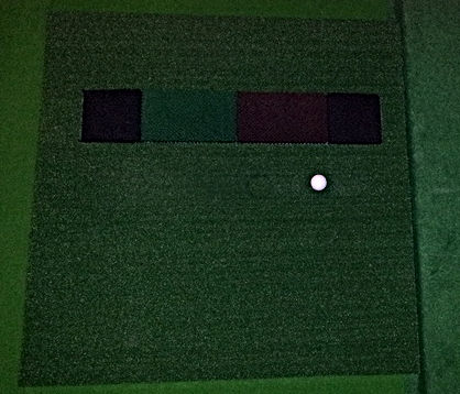 Golf Simulator Hitting Mat