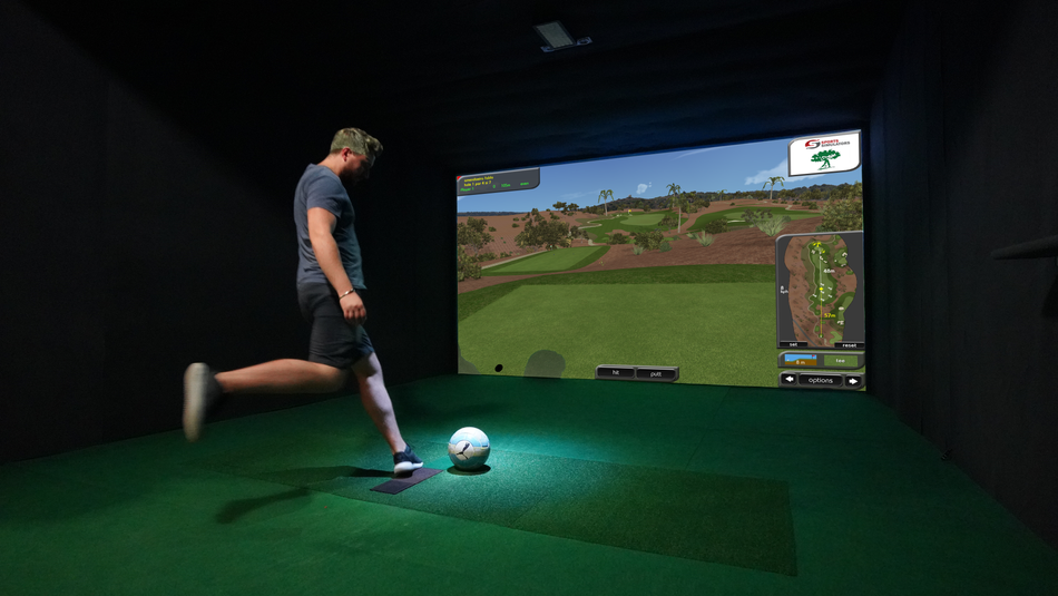 FOOT GOLF SIMULATOR