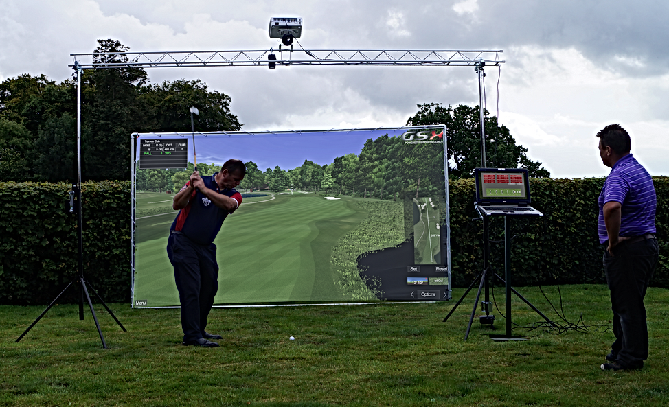 Sports Coach Golf Simulator Package