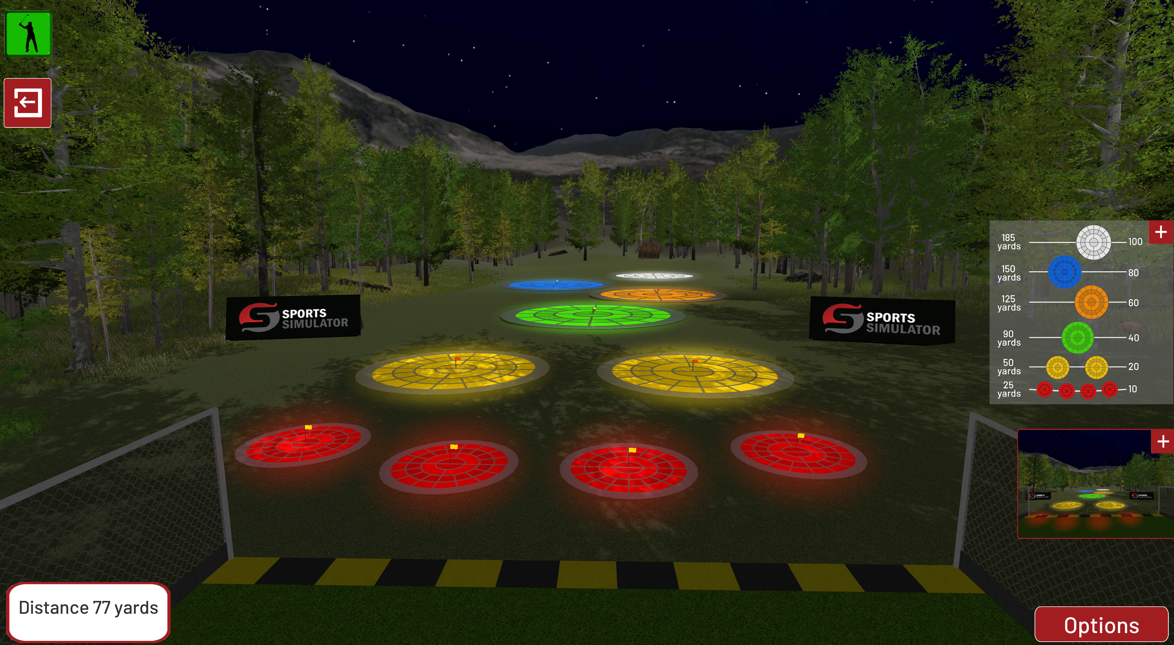 Contest Golf - Forest