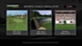 Golf Simulator GUI Screen