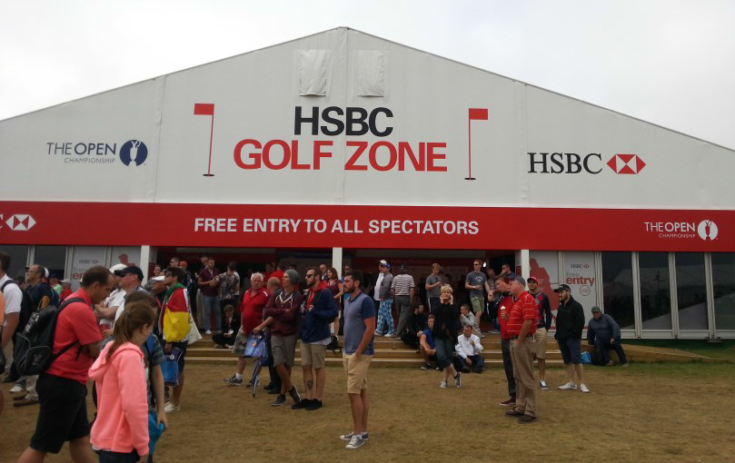 HSBC Golf Zone