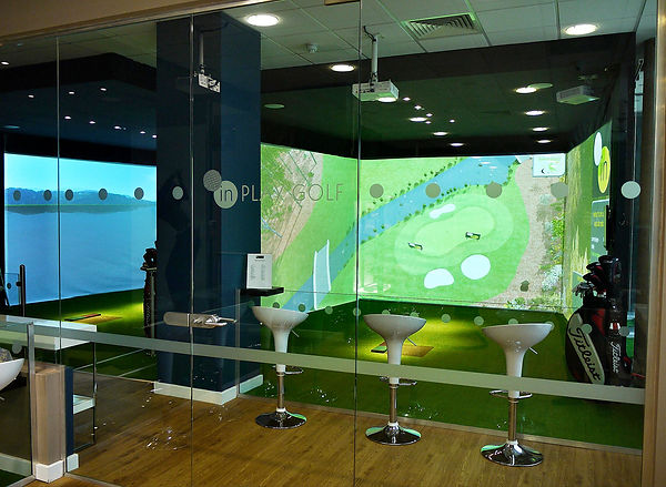 Golf Simulator Features
