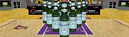 TEN PIN BOTTLES