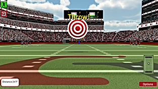 THROW TO SCORE