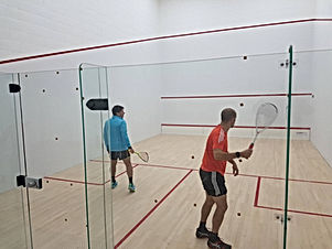 SQUASH COURT CONVERSION