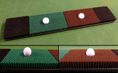 Golf Simulator Multi Surface Mat