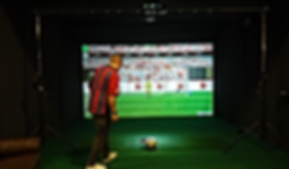 Portable indoor Football Simulator