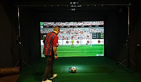 Portable indoor Football Simulator