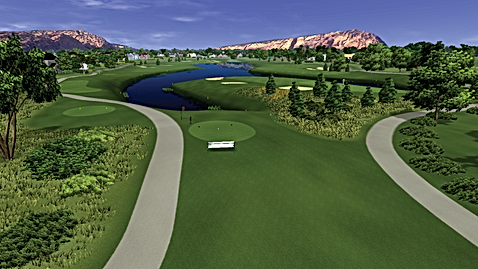 GSX Golf Simulator Course