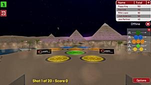 Contest Golf - Night Eliminate - Desert.