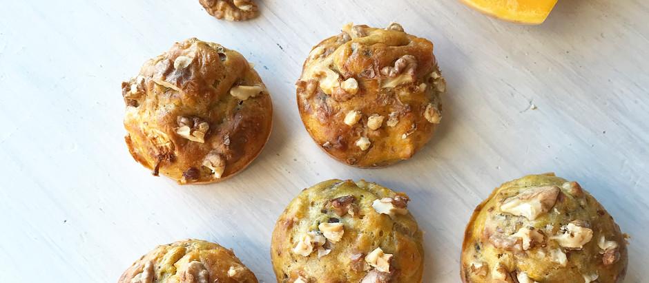 Muffins courge et noix