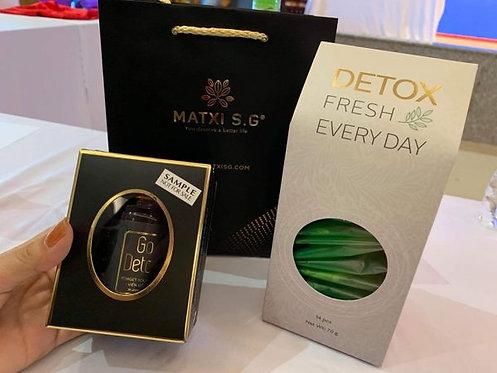 Go Detox e Chá Emagrecedor (2 kits)