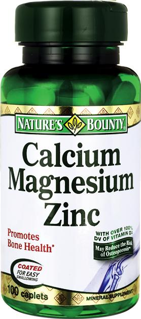 Cálcio-Magnésio-Zinco-Vitamina D3