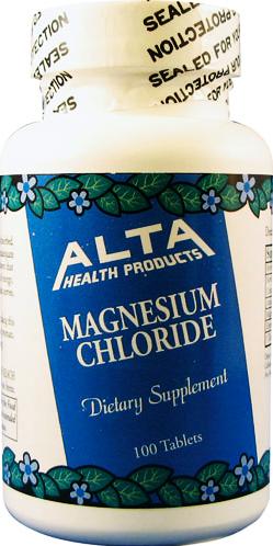 Cloreto de Magnésio Comprimido