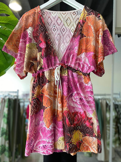 Swim Cover Up - Floral