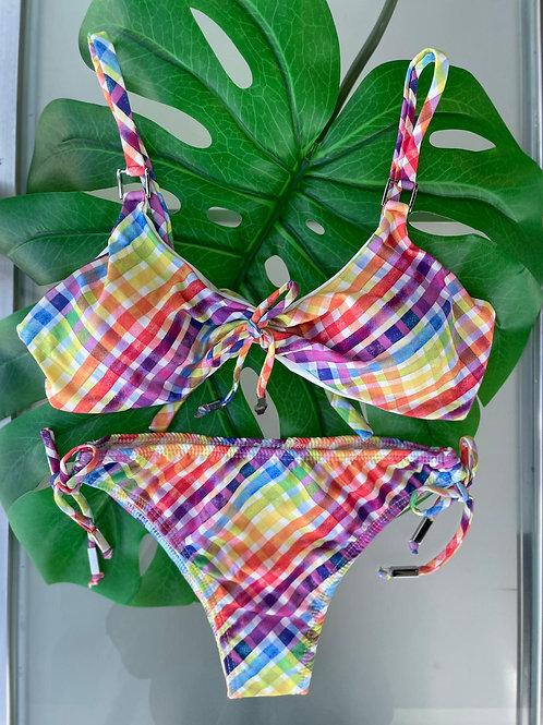 Bikini - Two Piece Multi-Color
