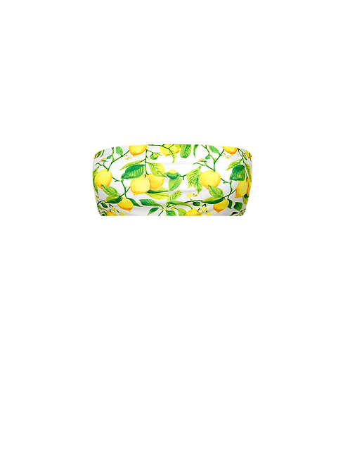 Bandeau Bikini Top - Limoni
