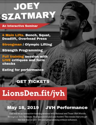 Lions Den Seminar