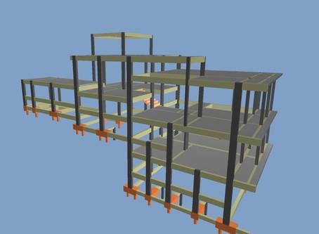 Estrutura de uma casa complexa...